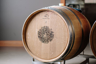 Poplar Grove wine barrel